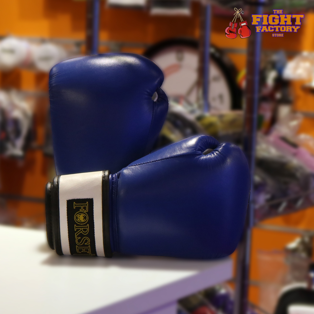 Forseti Pro Boxing Gloves - Blue