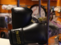 Forseti Pro Boxing Gloves - Full Black