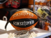 Forseti Pro Floor to Ceiling Ball - Black/Orange