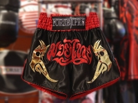 Forseti Pro Muay Thai Shorts - Red/Black