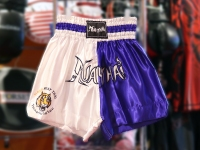 Tiger Muay Thai Shorts - Blue/White
