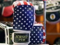 Forseti-Pro Boxing Gloves - Flag Edition