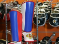 Forseti Pro Shin Guards - Flag Edition