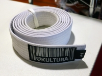 Kultura BJJ Gi Belt - White