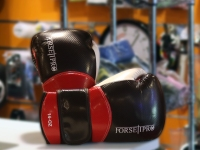 Forseti Pro Boxing Gloves - Black/Red
