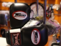 Twins Muay Thai Gloves - Black