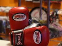 Twins Muay Thai Gloves - Red