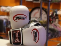 Twins Muay Thai Gloves - White