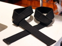 Forseti Pro Weight Lifting Straps Black